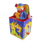 Jack in the Box Jester in the Box mit Spieluhr